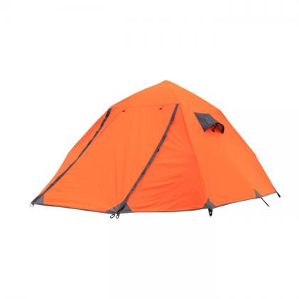 Double layer 3 person camping tent
