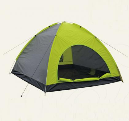 4 person 3 season single layer camping tent