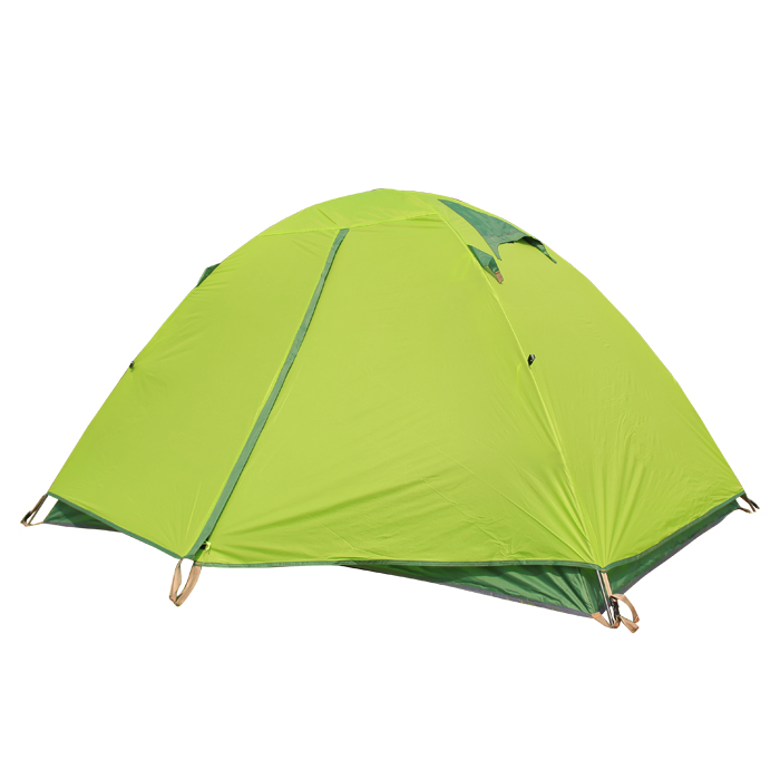 2 person 3 season double layer camping tent