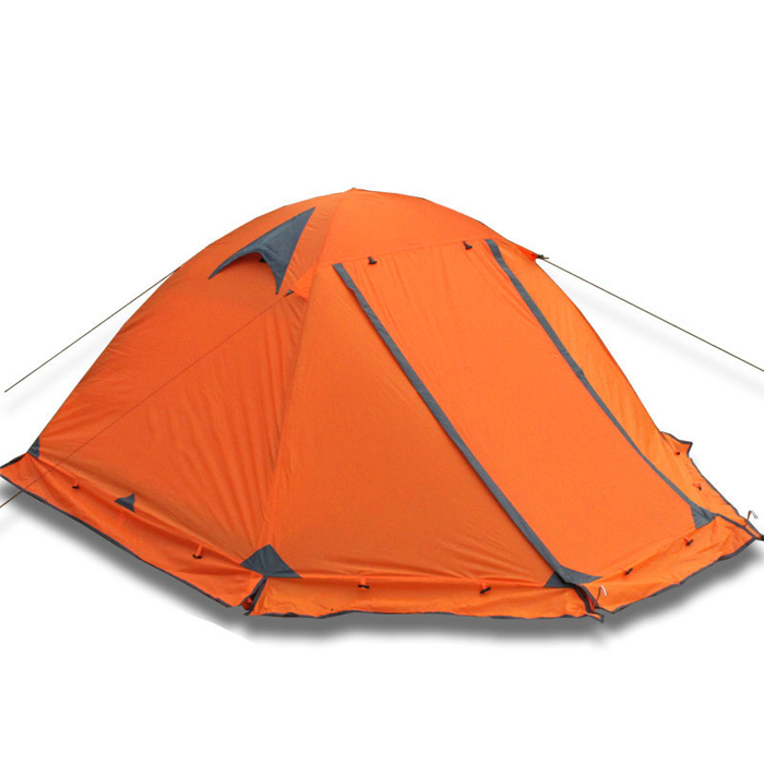 2 person 4 season camping tent for snowy weather