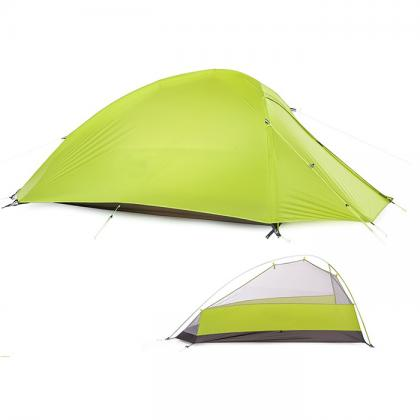 1 person 4 season camping tent with nylon fabric and 7001 alu tube