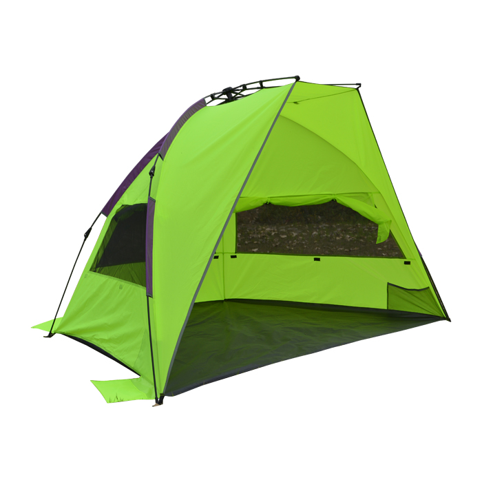 4/5 person single layer sun shelter tent for outdoor camping