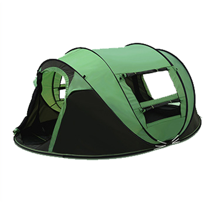 Boat shape pop up camping tent for 3-4 person