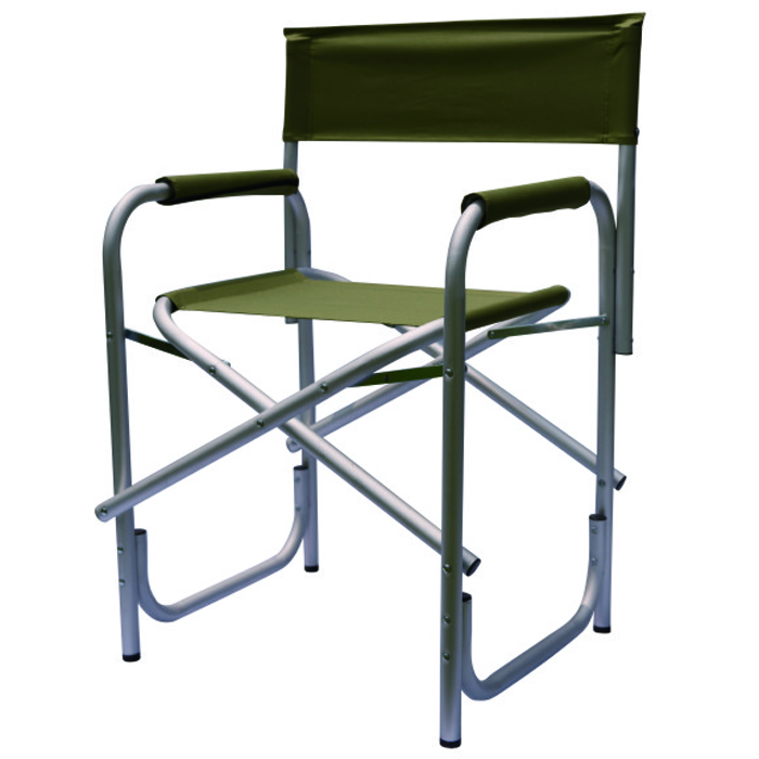 6x300D polyester single layer alu tube director chair
