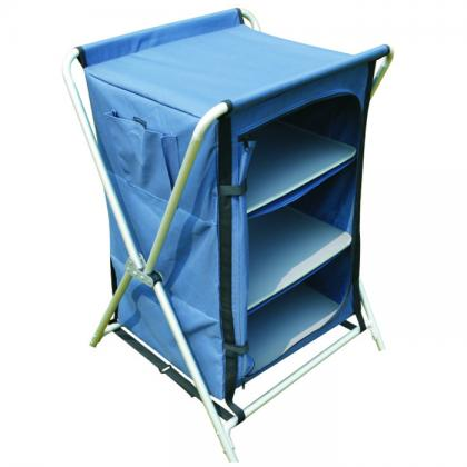 6x300D polyester Dia 19mm alu tube camping cupboard