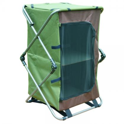 6x300D polyester Dia 19mm steel tube pop up camping cupboard